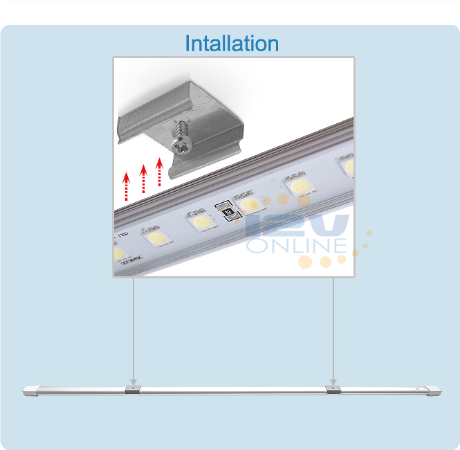 12v Led Under Cabinet Counter Strip Light Rv Camper: One Bar 12V LED Joinable Camping Light Strip Cool White