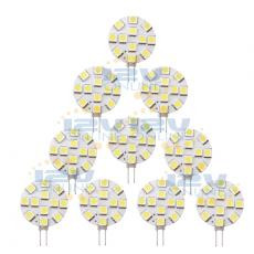 10x 12Volt LED G4 Replacement Bulbs 12-5050-SMD