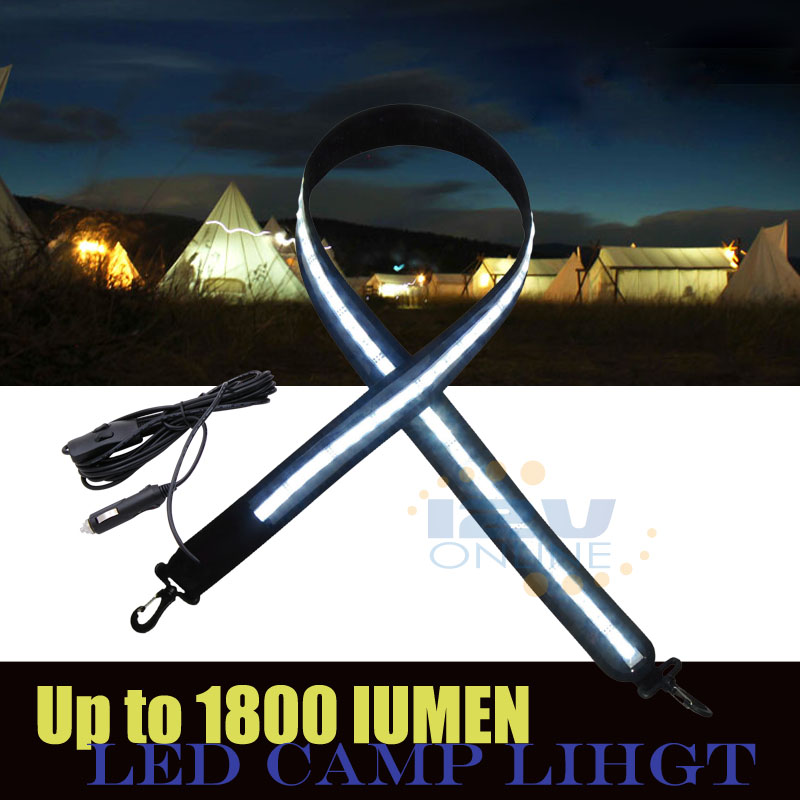 3 Phased Led Camping Light Strip Cool W Cigarette