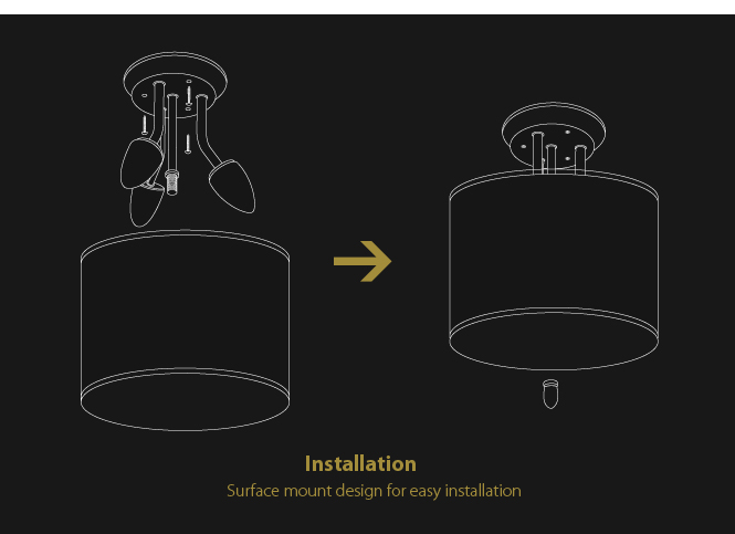 12v led cylindrical brown fabric shade dinette light interior lighting brown fabric lighting
