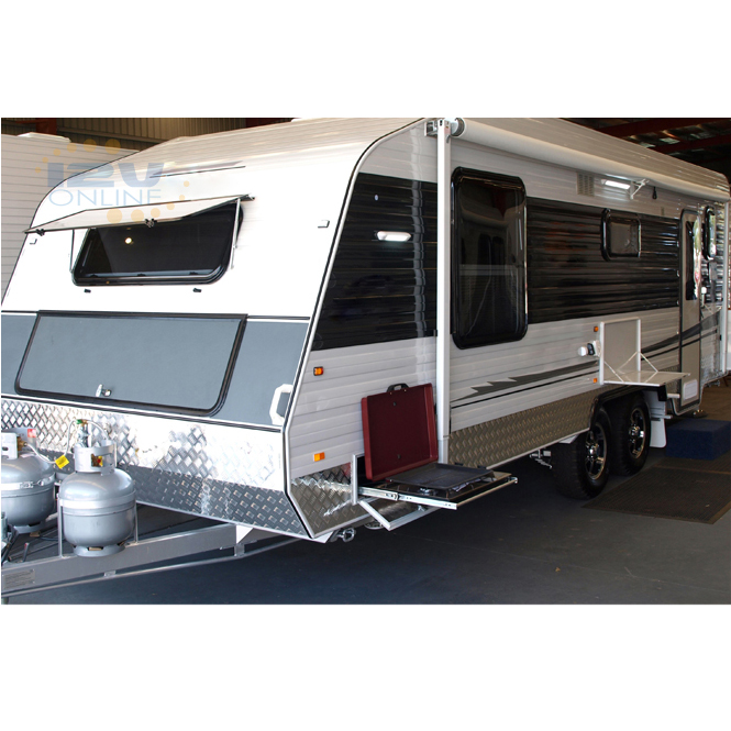 2x12v Gray 11w 720lm Led Awning Light Rv Trailer Camper