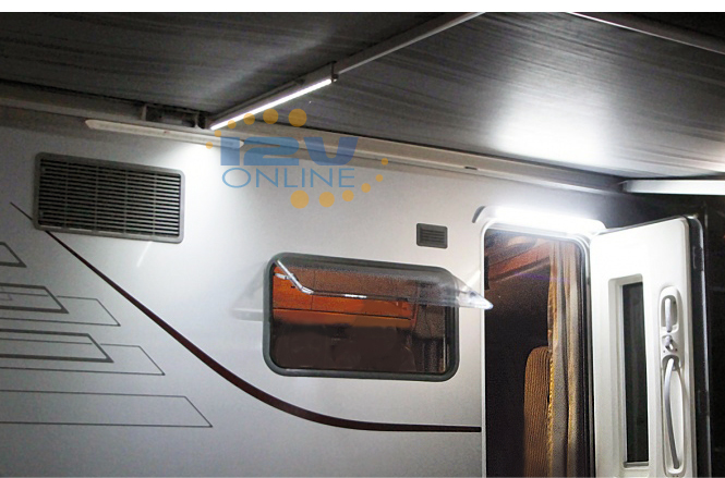 12Volt 2165 LED Awning Light RV Coach Caravan Exterior Garden Porch Annex Lamp 9345083002093